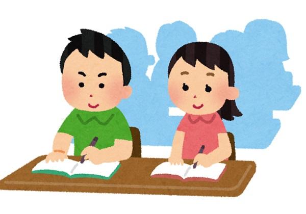 月1塾内テスト実施のお知らせ